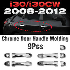 Chrome Door Handle Cover Garnish Molding B801 For HYUNDAI 2008 - 2012 i30/i30cw