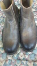 Gordon Rush 7158 Leather Boots  Brown US Size 11 Gift For Christmas
