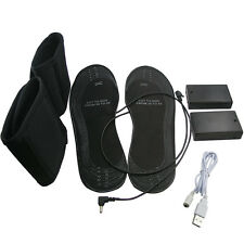 Electric Heated Shoes Insoles Usb Powered Keep Warm Pad Feet Warmer Shoe Boots