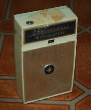 Vintage Continental TR-1085 10 Transistors Radio Parts/Repair