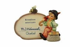 Hummel Merry Wanderer Plaque NIB Italian Authorized Retailer Plaque NEW IN BOX