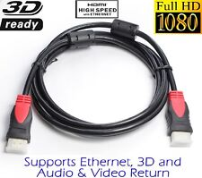 6FT HDMI V1.4 Cable Support 3D/Ethernet/Audio-Video Return/1080P For HDTV XBOX