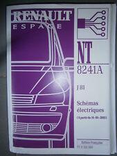Schémas électriques ESPACE 2003 NT8241