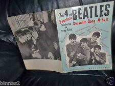THE BEATLES GENUINE 1965 SHEET MUSIC BOOK 4th EDITION LYRICS SONGS MUSIC CHORDS