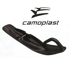 NEW CAMOPLAST ALL TERRAIN PLASTIC SKI SET 7 IN WIDE WITH CARBIDES NO MOUNTS