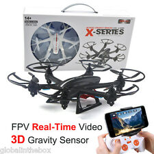 MJX X800 LED RC Night Flight Drone 2.4G Hexacopter 3D Roll Headless Helicopter