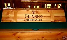 New Custom Guinness Pool Table Light & Cue Rack Combo!