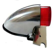 phare moto arriere feu pieces  bobber lampe chopper taillight polished sparto W