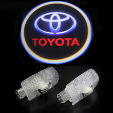 2x Wireless Car LED Door Projector Ghost Shadow Laser Lights for TOYOTA