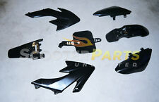 50cc Dirt Pit Bike Black Plastic Fairing Body Shell Shroud For Honda CRF50 XR50