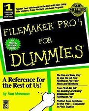 Filemaker Pro 4 for Dummies (For Dummies (ComputerTech))-ExLibrary