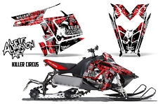 AMR Racing Sled Wrap Polaris Pro RMK Rush Snowmobile Graphics Kit 11-14 CIRCUS R