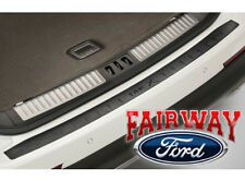 2016 Lincoln MKX OEM Genuine Ford Parts Black Rear Bumper Protector with Logo