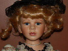 """Very Large Porcelain Doll 24"""" tall. Excellent Condition."""