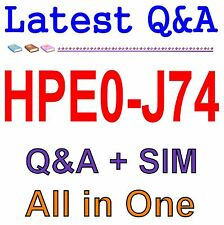 HP Best Practice Material For HPE0-J74 Exam Q&A PDF+SIM