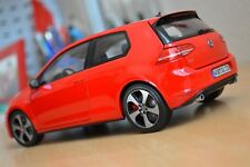 TOP SELLER - NOREV VOLKSWAGEN VW GOLF VII MODEL 1/18 RED REF 5G3099302BFC