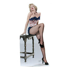 MARILYN MONROE IN FISHNET STOCKINGS Lifesize CARDBOARD CUTOUT Standup Standee