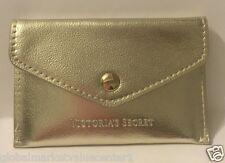 Victorias Secret GOLD POCKET TRAVEL WALET holds cash cards COINT BAG NEW