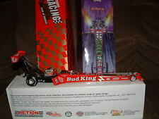 BUDWEISER BUD KING LOUIE THE LIZARD 1998 NHRA TOP FUEL DRAGSTER 1/24 DIE CAST