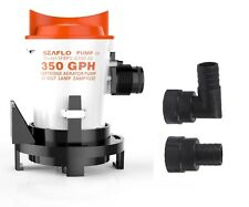 SEAFLO 12V 350 GPH Side-Mount Bilge Pump Cartridge Submersible FREE SHIPPING