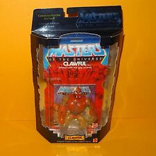 2001 MATTEL MOTU HE-MAN COMMEMORATIVE SERIES II CLAWFUL FIGURE MOC CARDED LTD ED