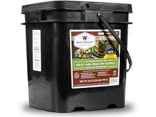 Wise Food 07-702 60 Serving Protein / All Meat  Grab and Go Bucket Survival Food
