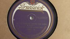Walter Hammond – 78rpm single 10-inch – Brunswick #5007