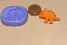Reusable Dinosaur 3 Silicone Mould Sugarcraft Jewellery Card Topper Food Safe N