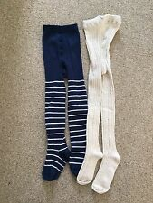 Next Girls Pk 2 Tights Age 3/4 Years Worn Once
