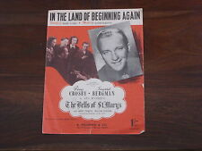 In The Land of Beginning Again sheet music