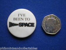 Inner Space  Promotional pin badge  Warner Bros.Films 1987