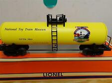 LIONEL LTD PRODUCTION- 52243 NATL TOY TRAIN MUSEUM STANDARD O TANK CAR- MINT-S10