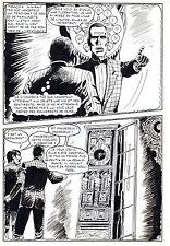 LE VENTRILOQUE DE L'AU DELA (PLEYERS) PLANCHE ORIGINALE PAGE 27