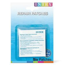 INTEX Self Adesivo Vinile Puncture KIT RIPARAZIONE PER GONFIABILI 6 PATCH incluso