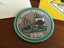 LIMITED EDITION Back to the Future Embroidered Patch BTTF Nike AIR MAG