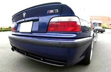 BMW E36 3-Series Sedan Euro Rear Trunk Boot Spoiler Lip Wing Sport Trim Lid M M3