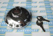 1937-1972 Chevrolet, Chevrolet Truck, GMC | GM Locking Gas Cap | 2 Keys | Chrome