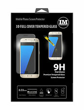 Premium Tempered Schutzglas Displayglas 3D FULL für Samsung Galaxy S7 G930F
