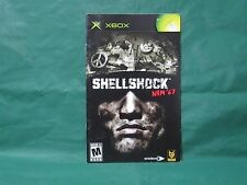 Shellshock Nam 67 Manual for Xbox *MANUAL ONLY*