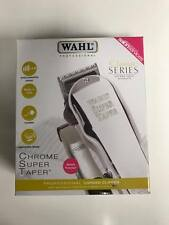 *WAHL Chrome  Super Taper Hair Clippers Cutting Machine New BNIB*