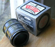M42  auto extension tubes made in  japan photina badge