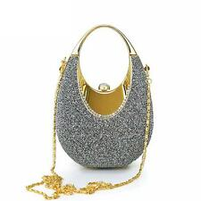 Women Crystal Luxury Rhinestone Evening Clutch Bag Handbag Glitter Shoulder Bag