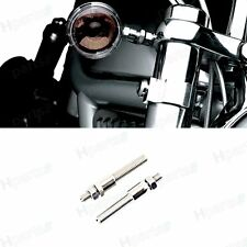 1Pair Turn Signal Relocation Kit For Harley Dyna Super Glide Sportster 39mm Fork