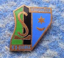 SIARKA TARNOBRZEG POLAND FOOTBALL FUSSBALL  BASKETBALL GOLD ENAMEL PIN BADGE