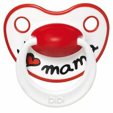 The Famous bibi swiss I LOVE MAMA baby soother pacifier - 6 months