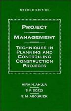 Project Management: Techniques in Planning and Controlling Construction Projects
