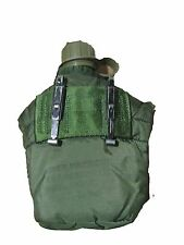 US ARMY Military 1 Qt Canteen & Pouch Utility GP General Purpose wth ALICE CLIPS