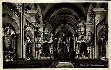 Freiburg im Breisgau Baden-Württemberg AK ~1930/40 Kirche St. Peter Innenansicht