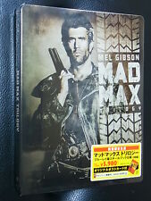 Mad Max Trilogy Blu-ray SteelBook Japan Limited  Brand New Rare