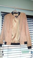 Brand new Forever 21 Men Suede Bomber Jacket size S